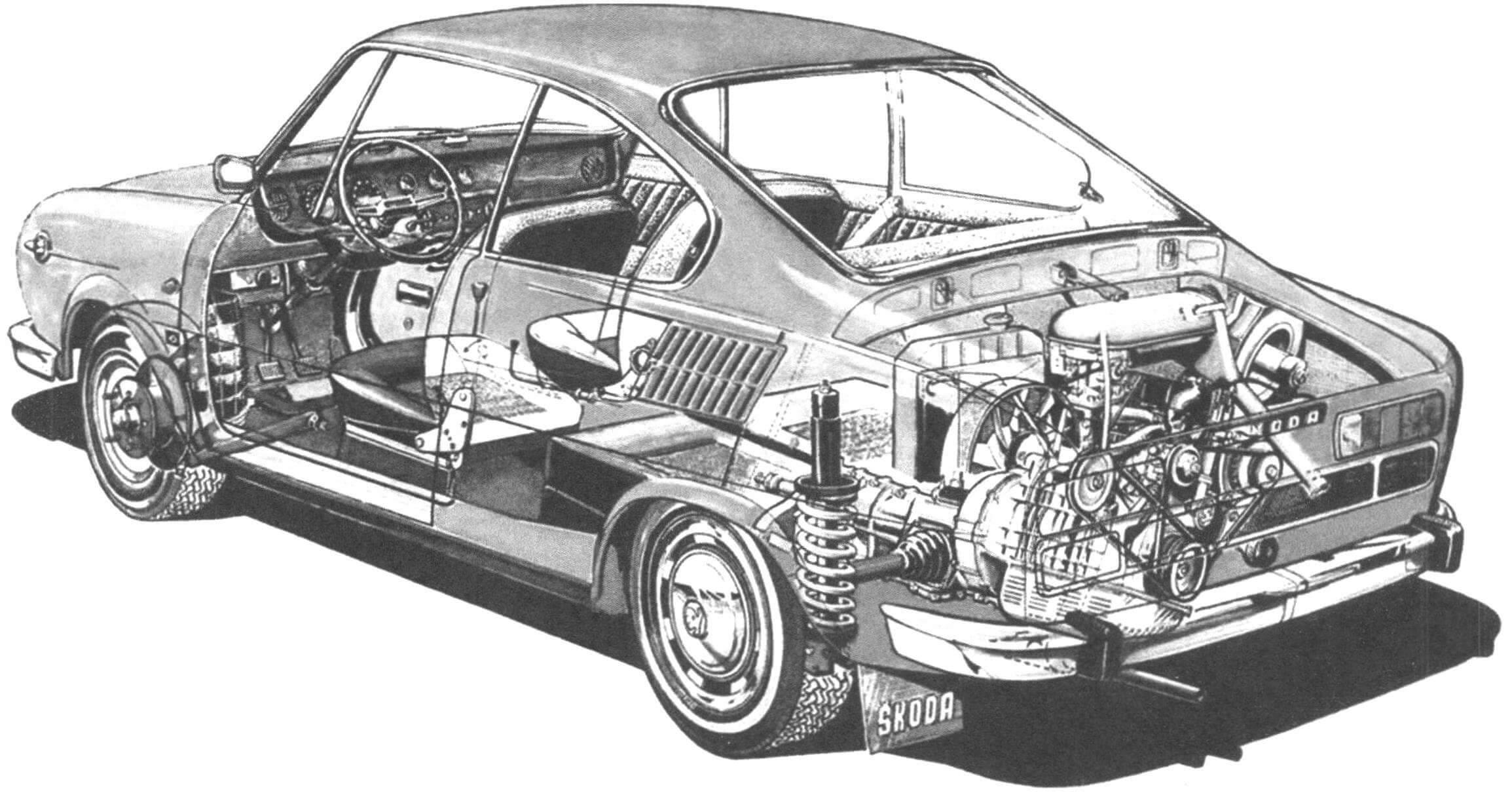 По практичности купе не уступал базовому седану, но при этом обладал лучшими характеристиками
