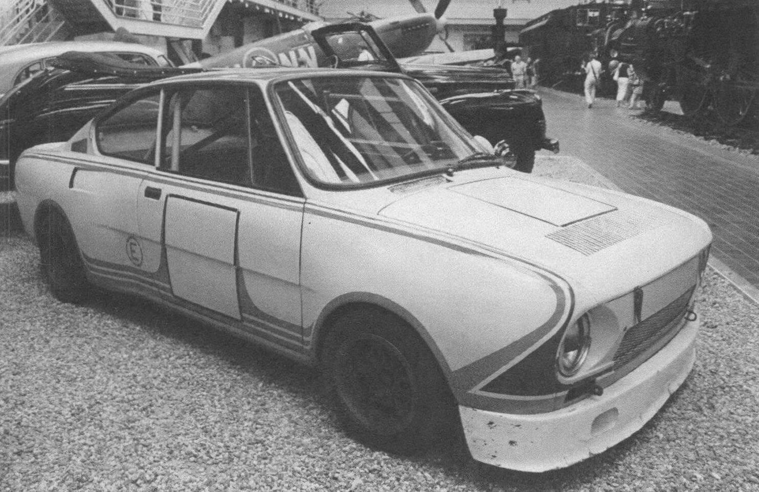 Skoda 130 RS в исполнении для кольцевых автогонок
