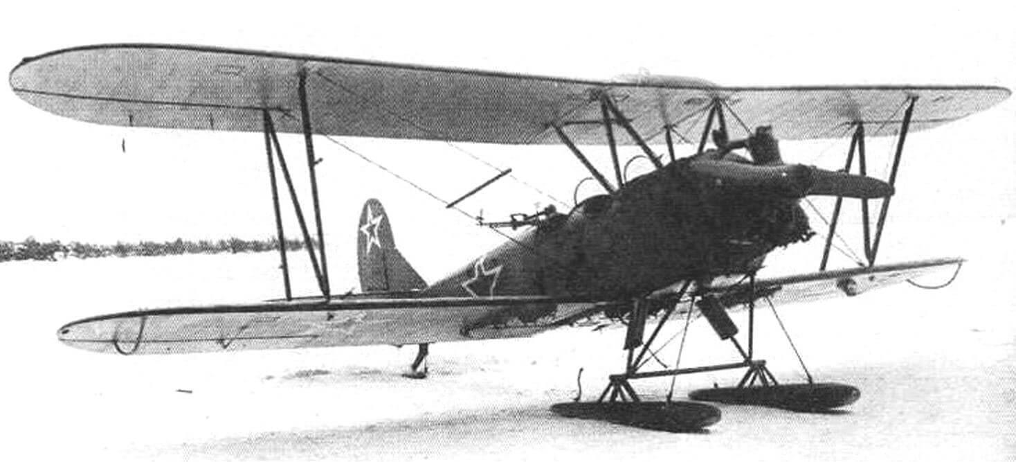У-2ВС № 4504, оборудованный глушителем конструкции завода № 387 в виде кольцевого коллектора