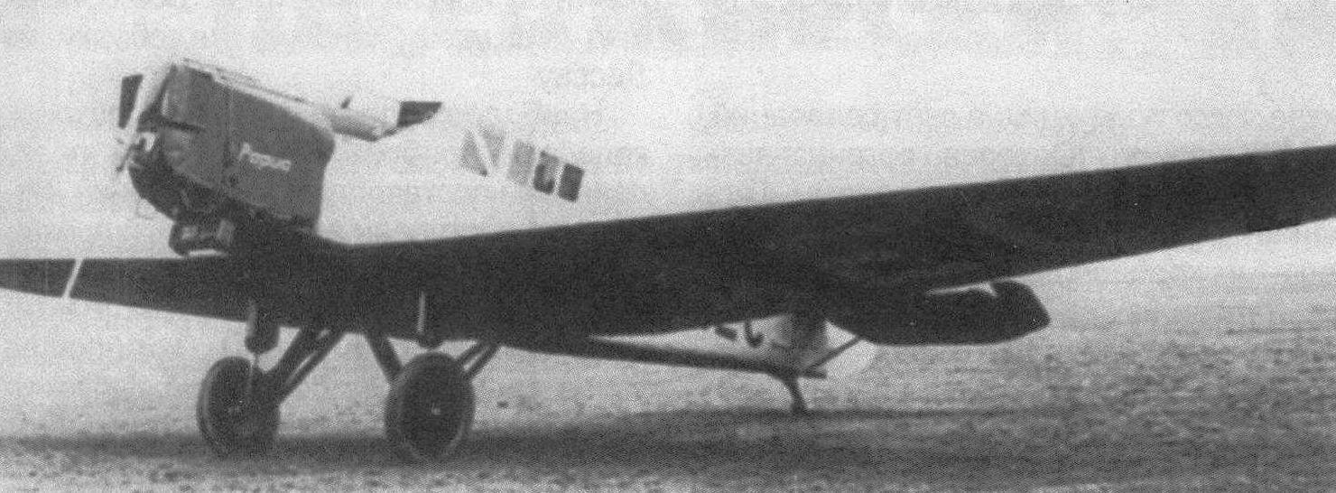 F13k «Папуа», прошедший доработку в Швеции в 1934 г. Этот самолет затем эксплуатировался на Новой Гвинее