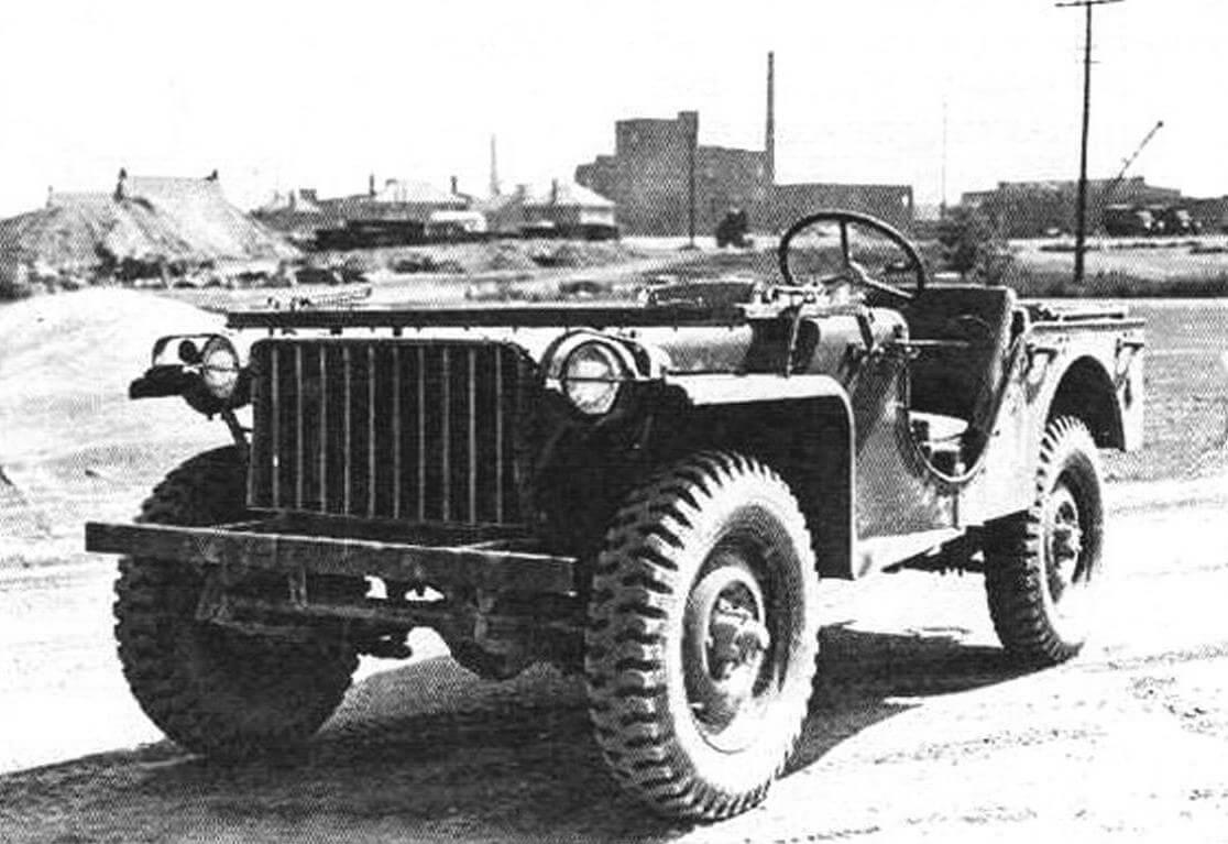 Разведывательный автомобиль Bantam BRC-40