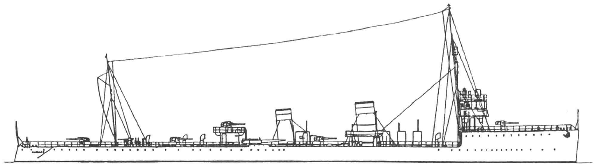 "189. Эсминец ""Аудаче"" (II), Италия, 1916 г."