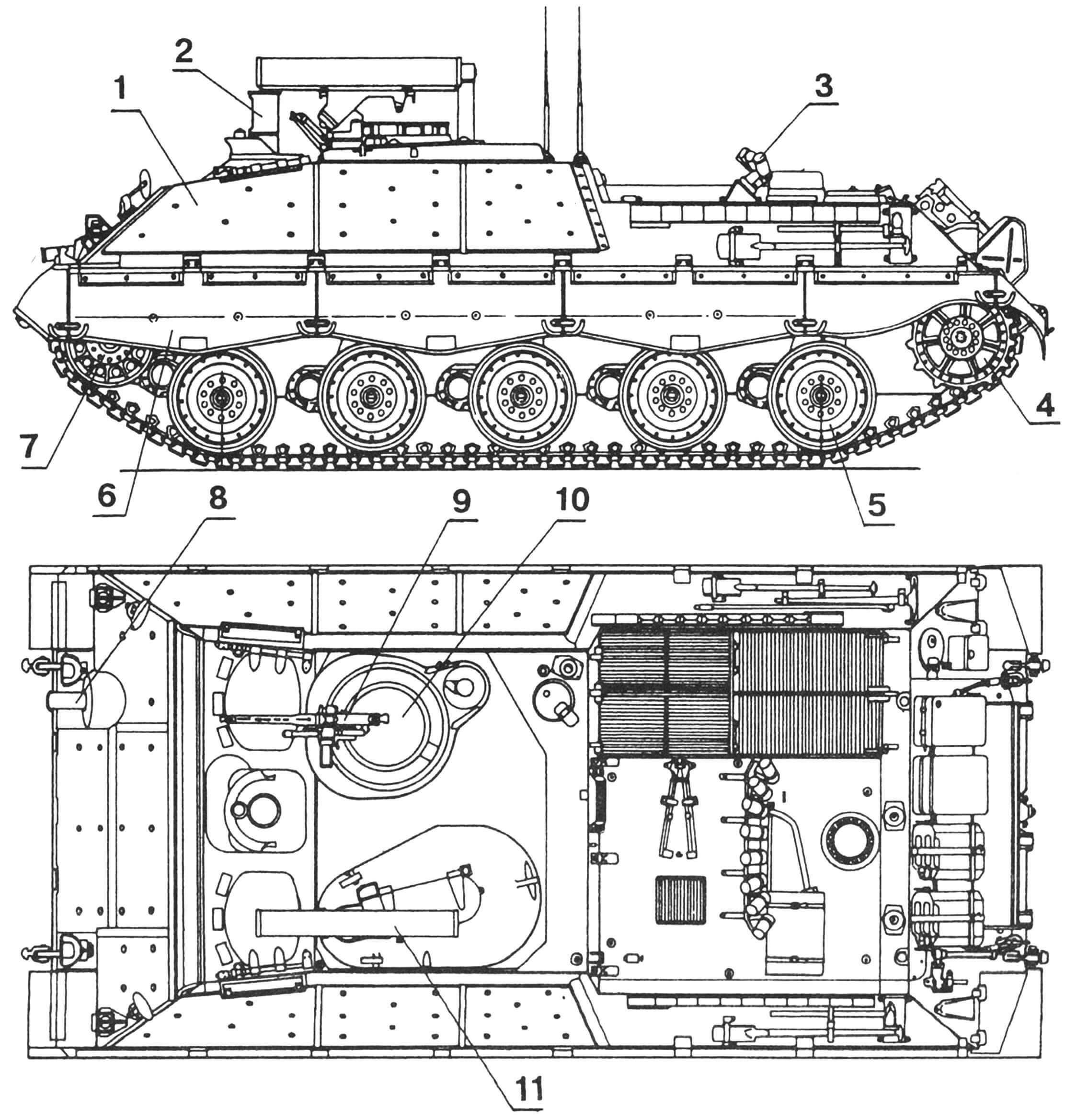 """Самоходная пусковая установка """"Ягуар-1"""""""
