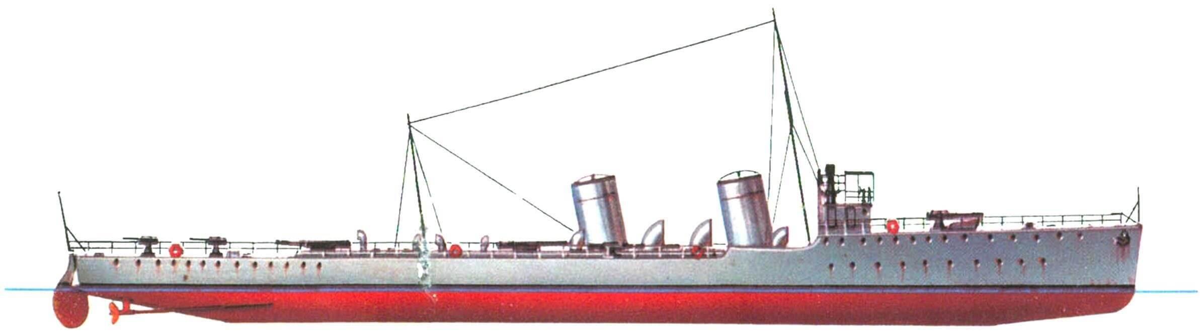 "187. Эсминец ""Аудаче"" (I), Италия, 1914 г."