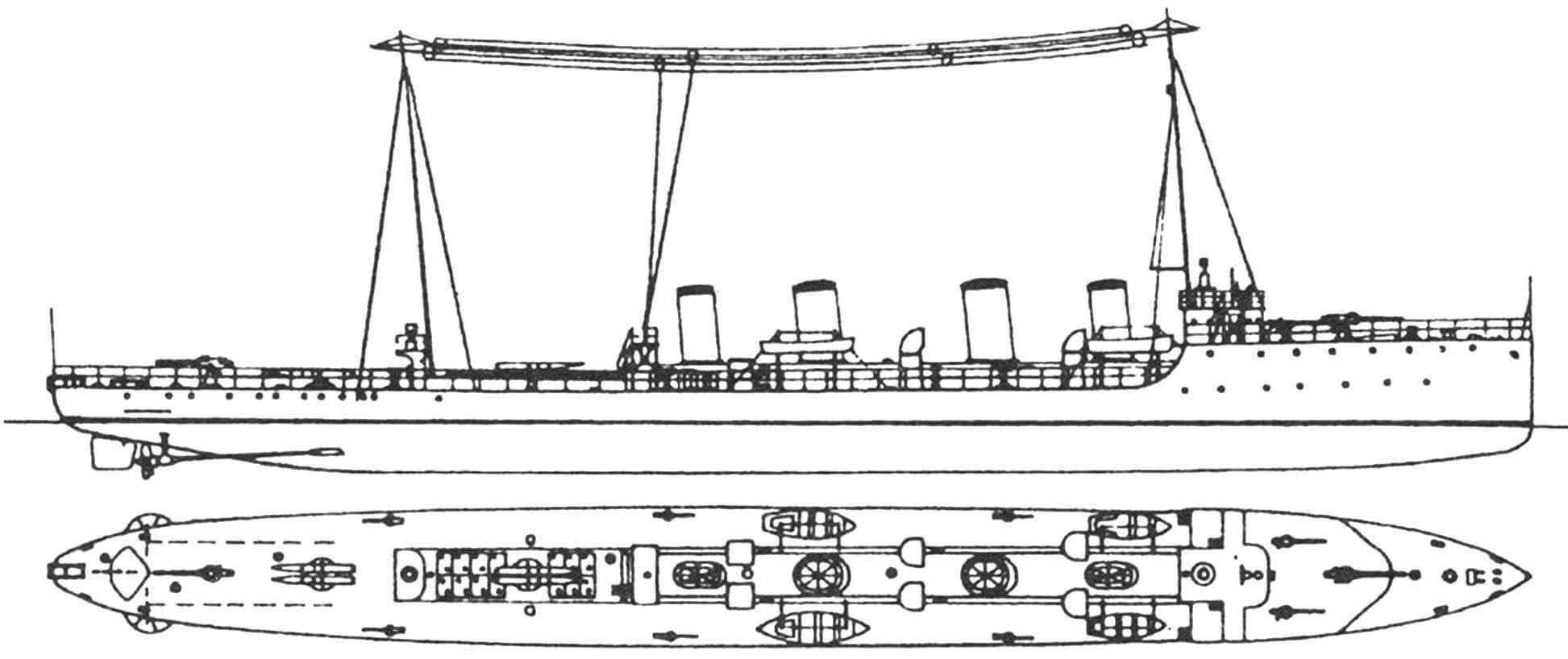 "193. Эсминец ""Триглав"" (II), Австро-Венгрия, 1917 г."