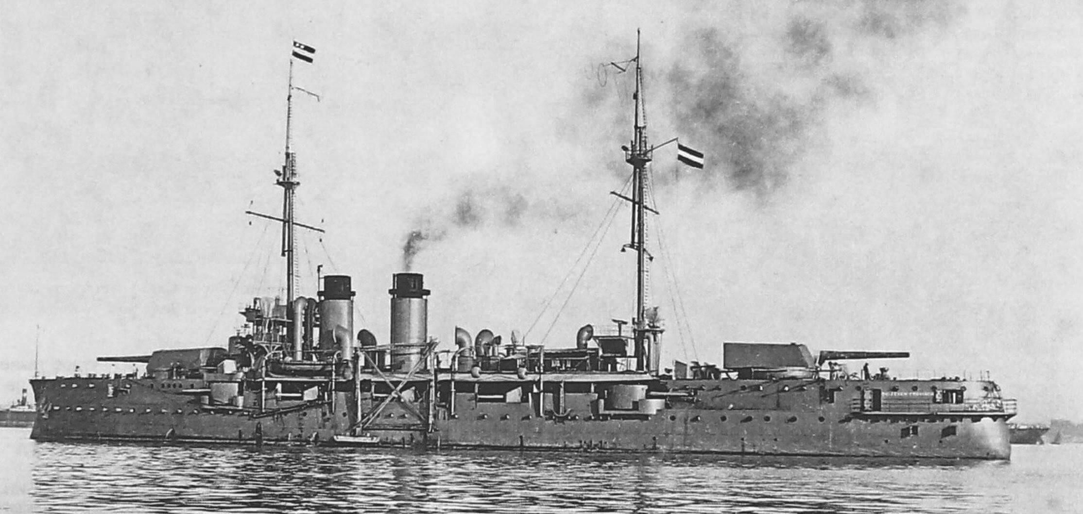 «Де Зевен Провинсиен» («De Zeven Provincien») - последний и самый совершенный броненосец нидерландского флота