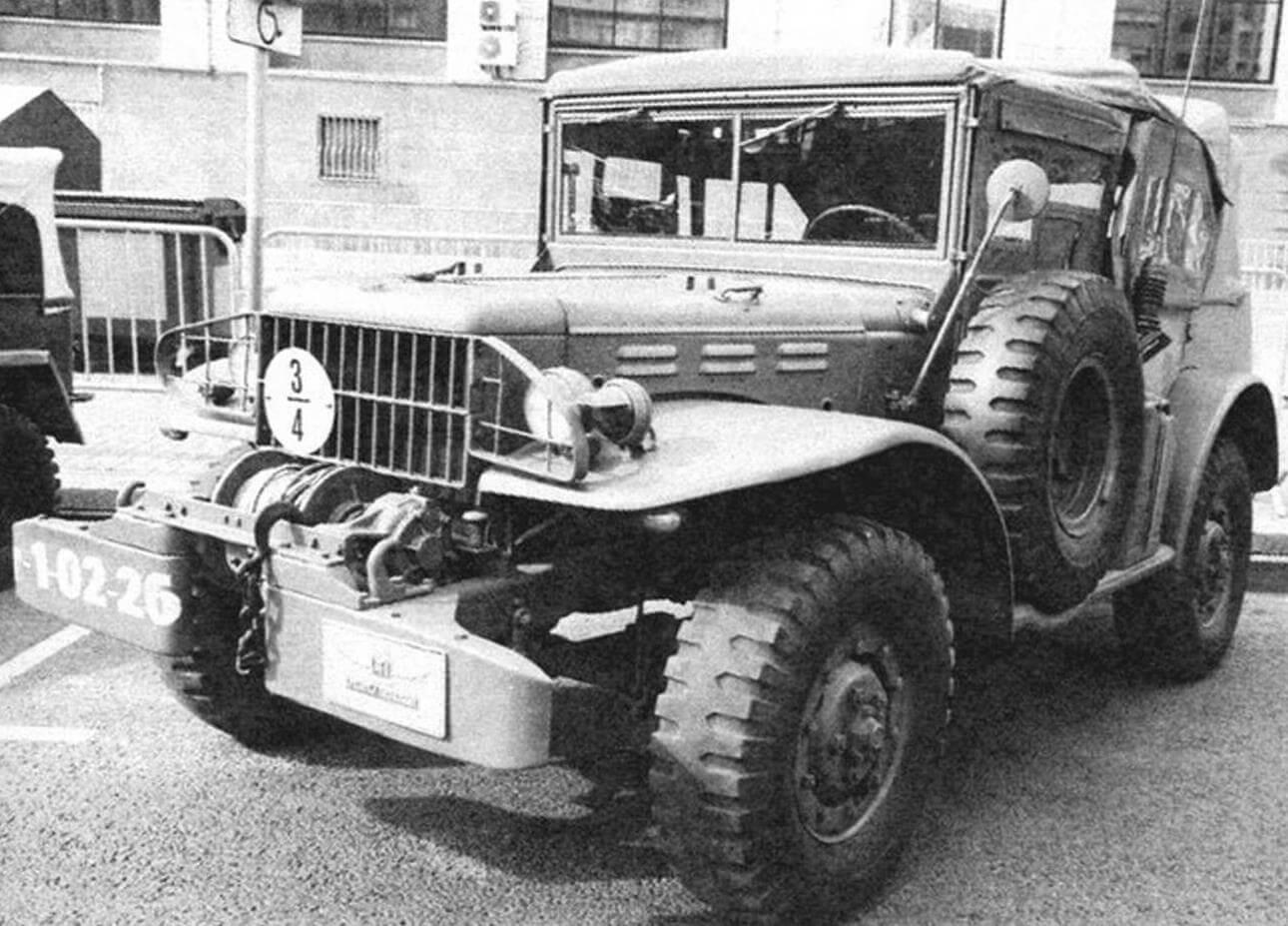 Dodge WC58 оснащался радиостанцией