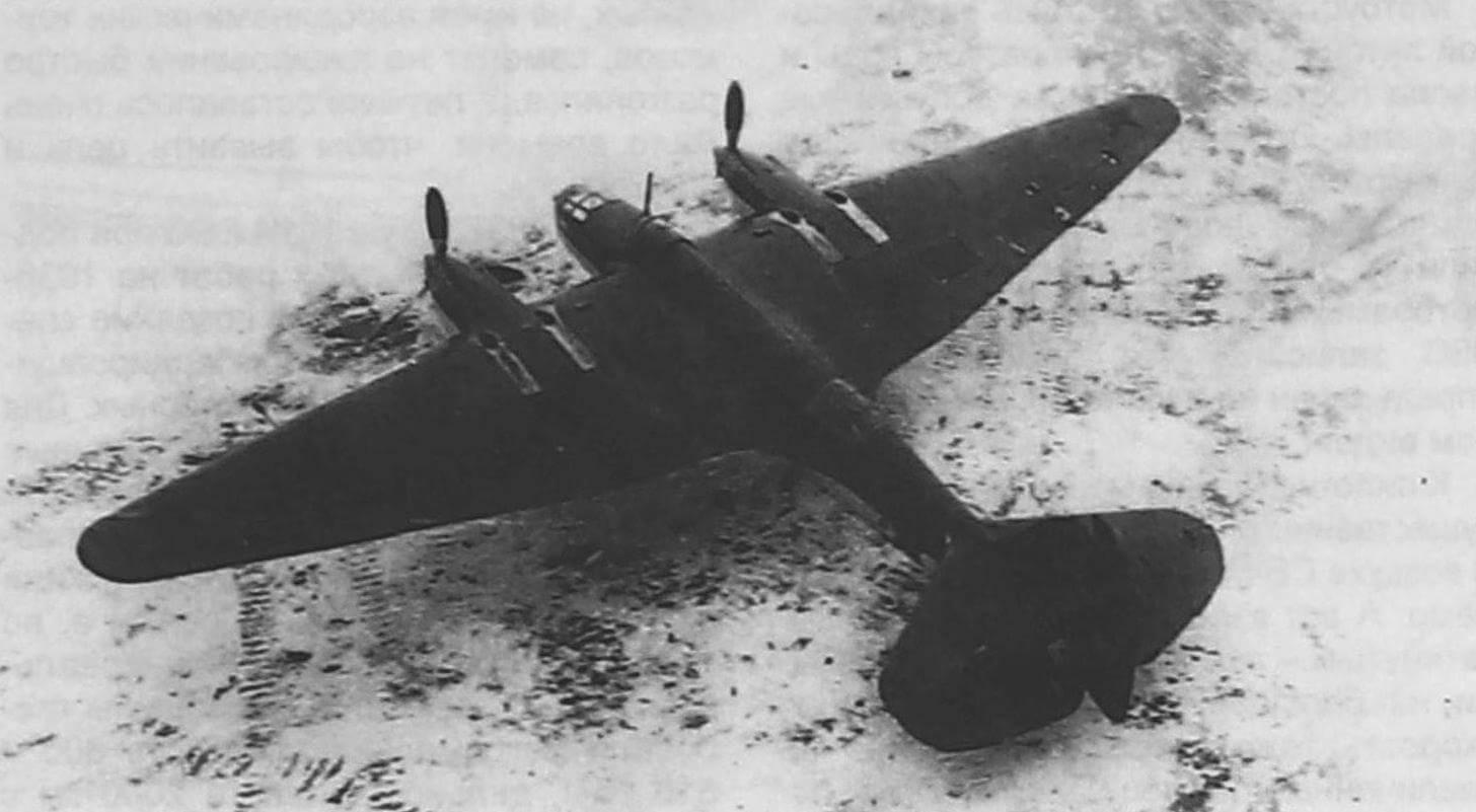 «Эталон» на испытаниях в НИИ ВВС, конец осени 1940 года