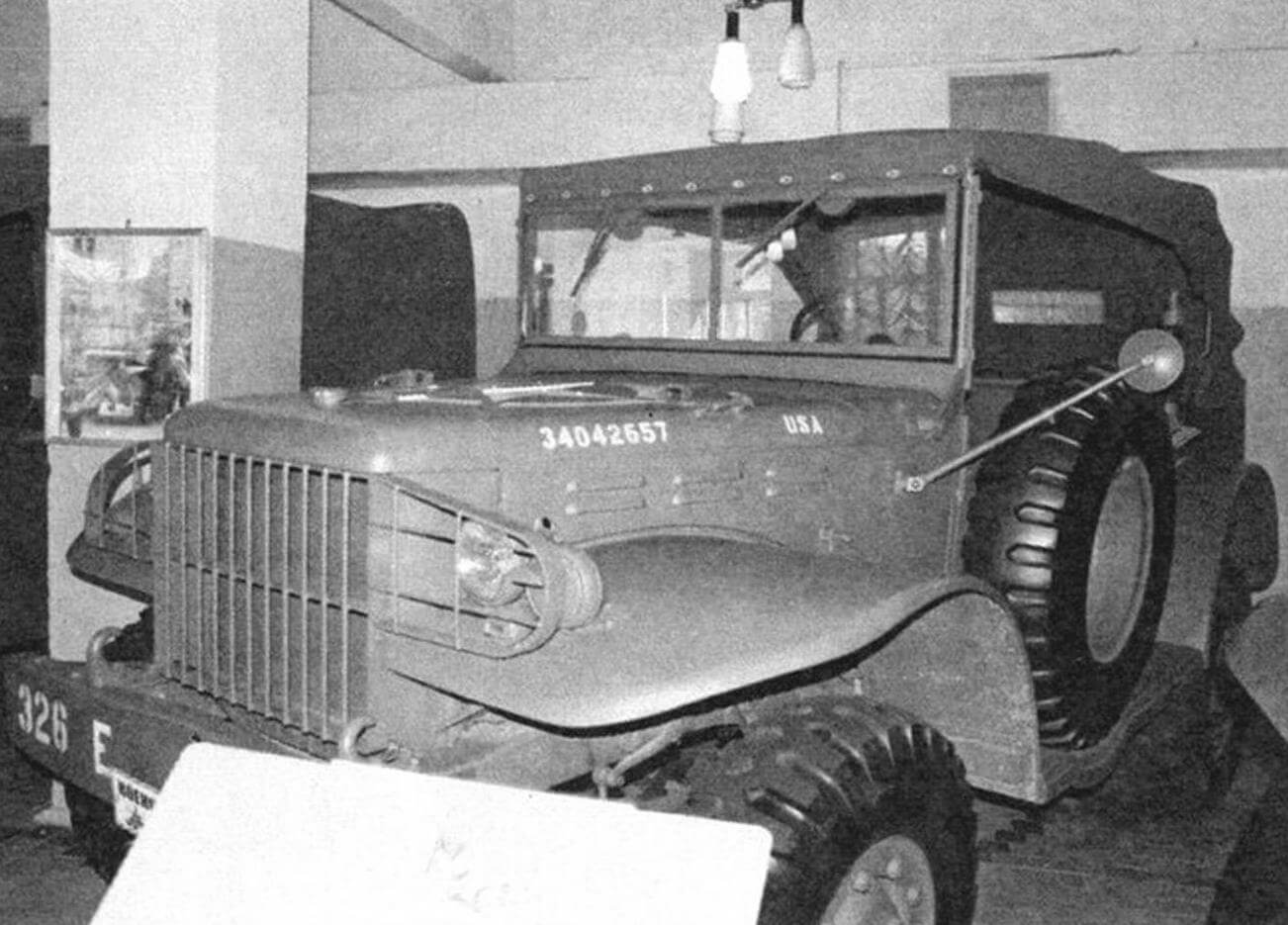Dodge WC56 служил в охране маршала К.А. Мерецкова