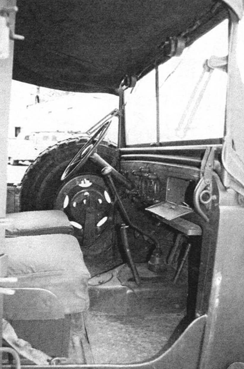 Кабина Dodge WC62