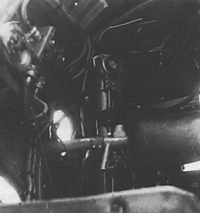Правый борт кабины штурмана