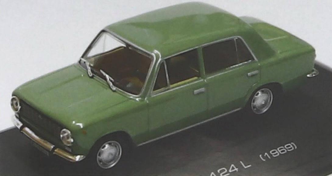 Модель Seat 124L, вышедшая в журнальной серии Altaya в Испании, -одна из лучших копий моделей типа Fiat 124