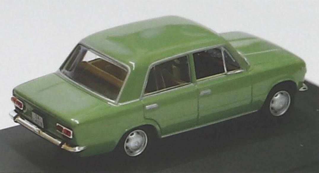 Модель Seat 124 L отличается точными пропорциями кузова, качественой окраской и хорошо проработанным салоном