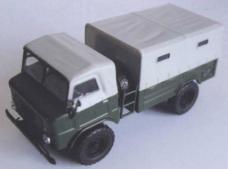 ГАЗ-62 образца 1958 года был выпущен небольшой серией