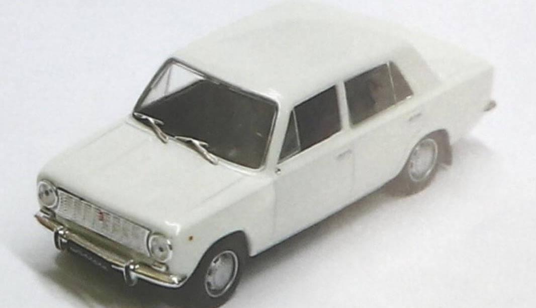 Модель ВАЗ-2101 у DeAgostini получилась не самой удачной