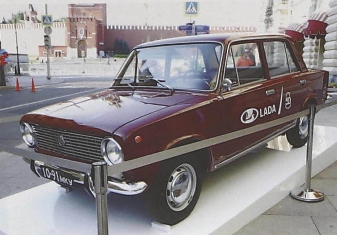 ВАЗ-2101 1970 года из коллекции заводского музея