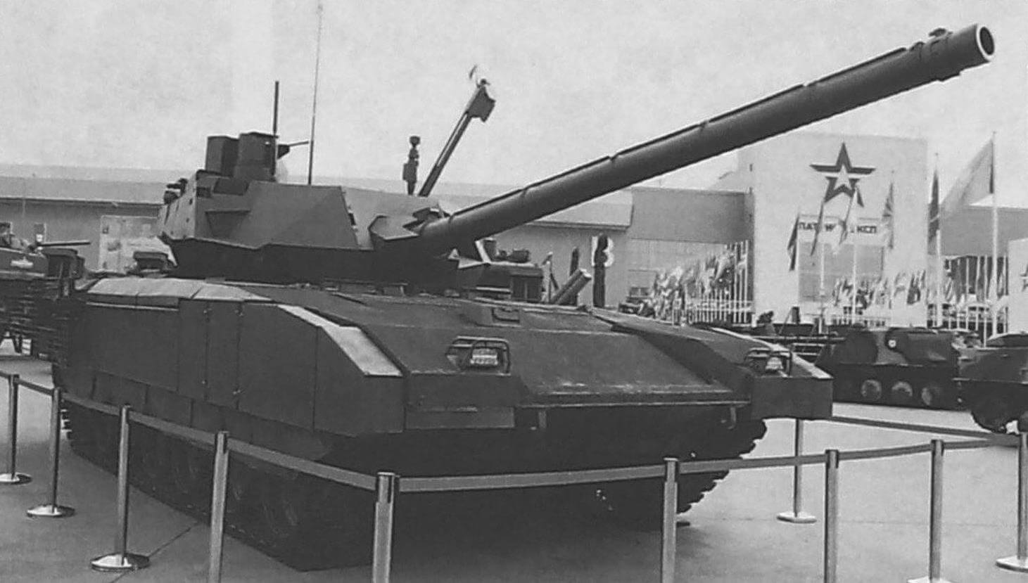 Перспективный боевой танк Т-14 «Армата»