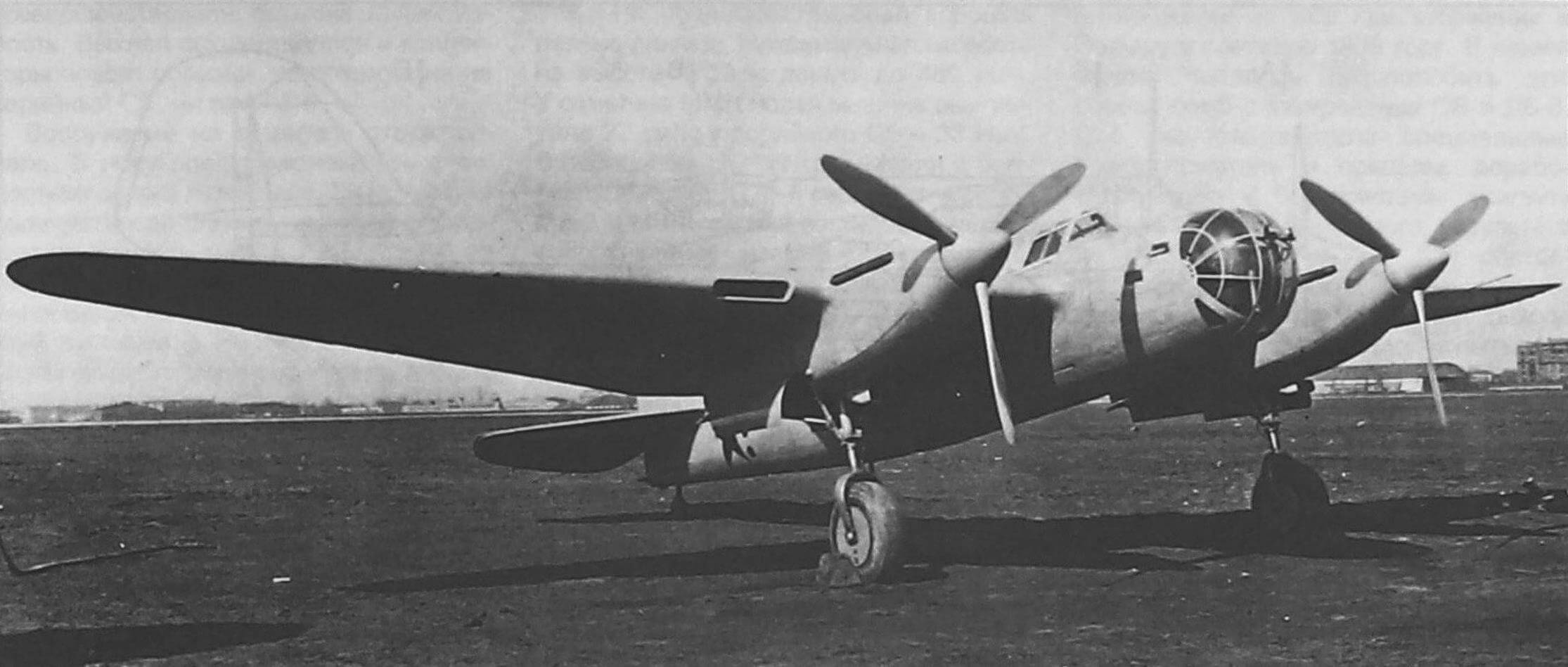 СБ-РК №2/281 на испытаниях в НИИ ВВС, май 1940 года