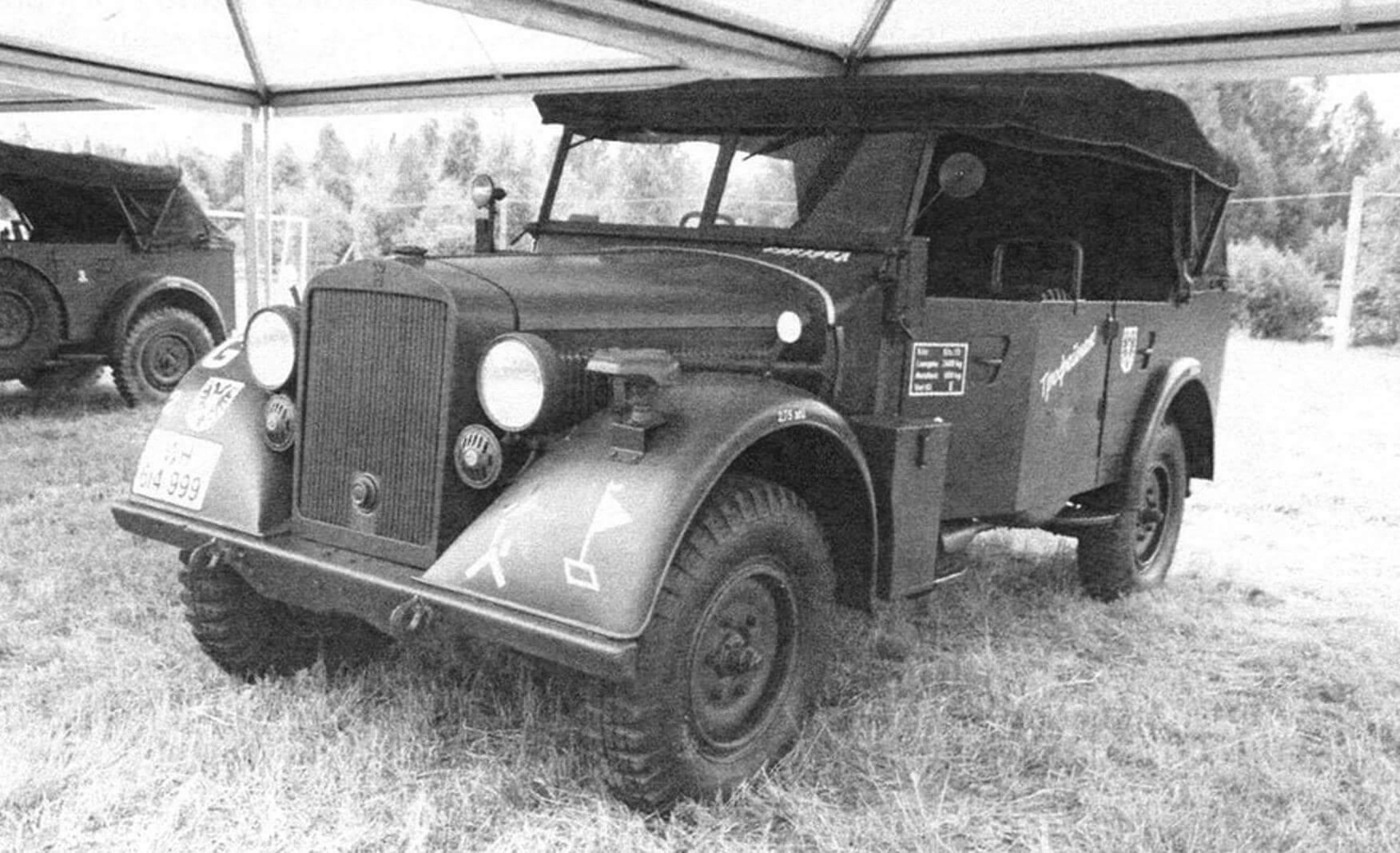 Значительное количество трофейных Horch 901 использовалось в Красной Армии