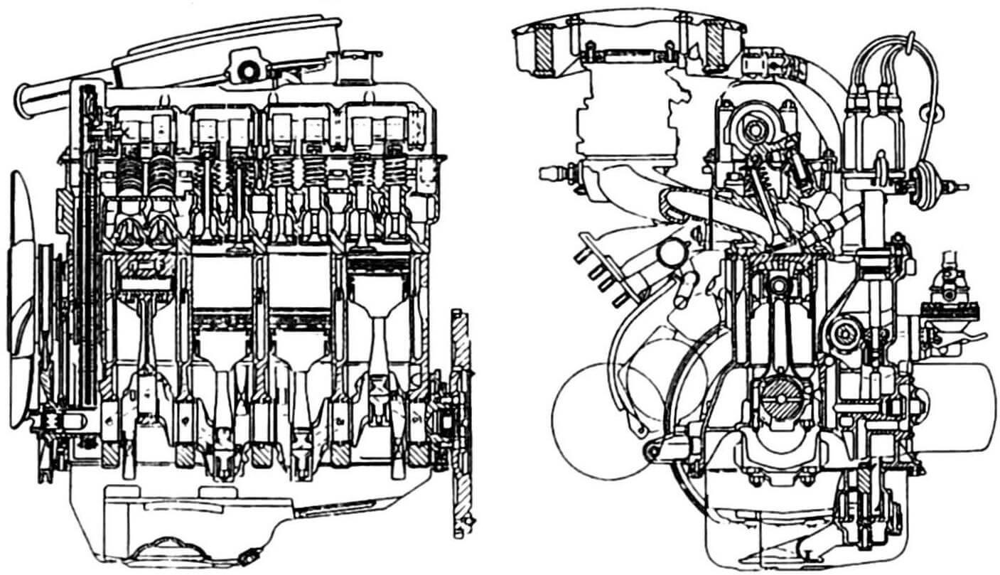 Для ВАЗ-2101 инженеры Fiat разработали новый верхнеклапанный мотор
