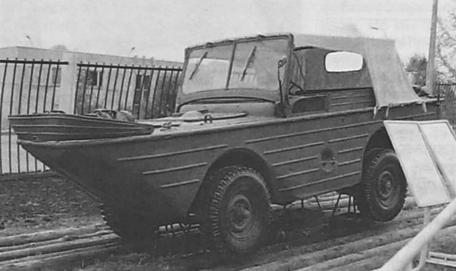 Автомобиль Ford GPA в Музее Победы на Поклонной горе