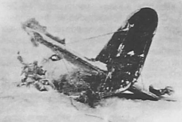 Катастрофа Ар-2 ит транспортного отряда завода №22, произошедшая 13 января 1942 гю., летчик Г.И. Шустваль
