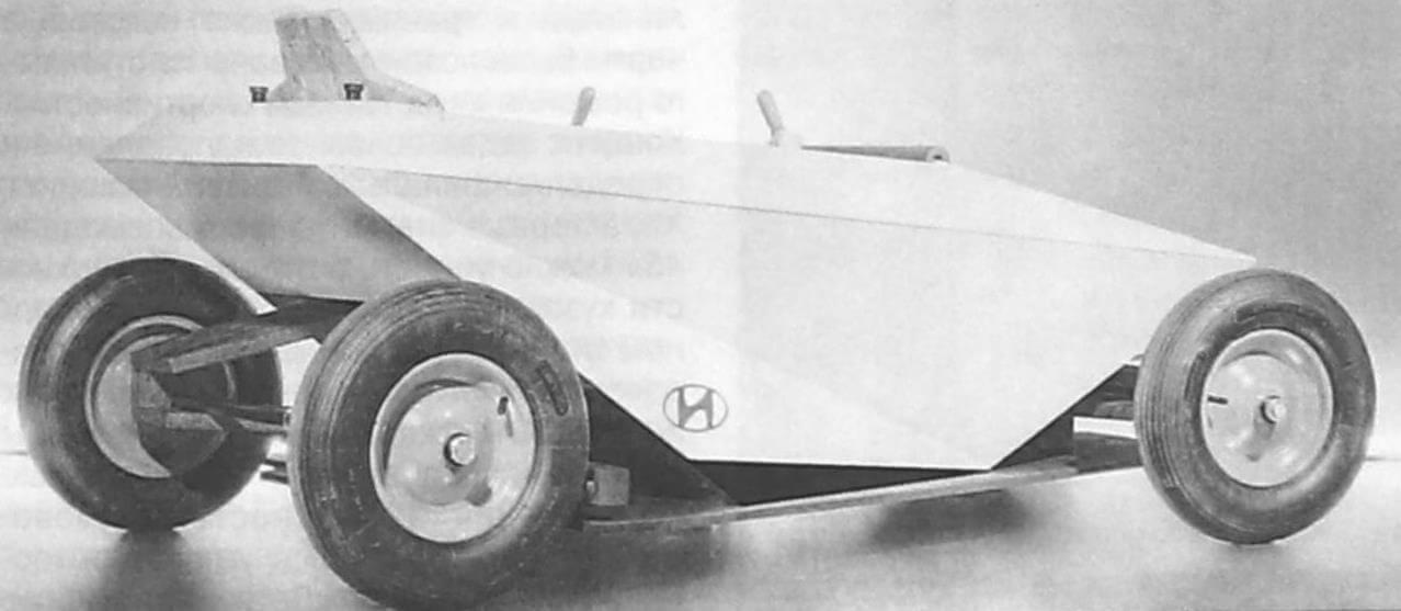 Ромбовидный силуэт Hyundai Soapbox соответствует основным направлениям проектирования электромобилей будущего