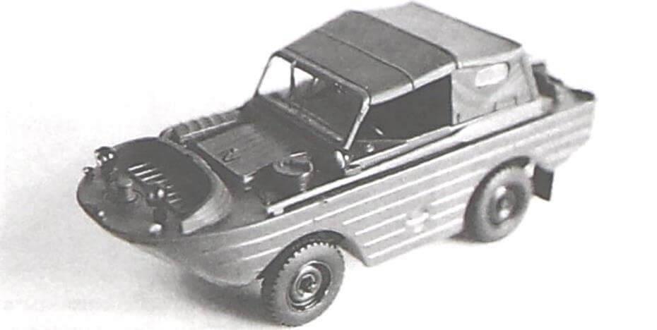Модель ГАЗ-46 DeAgostini довольно точно передает образ реального прототипа