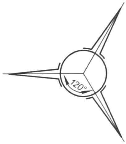 Схема монтажа плоскостей стабилизатора