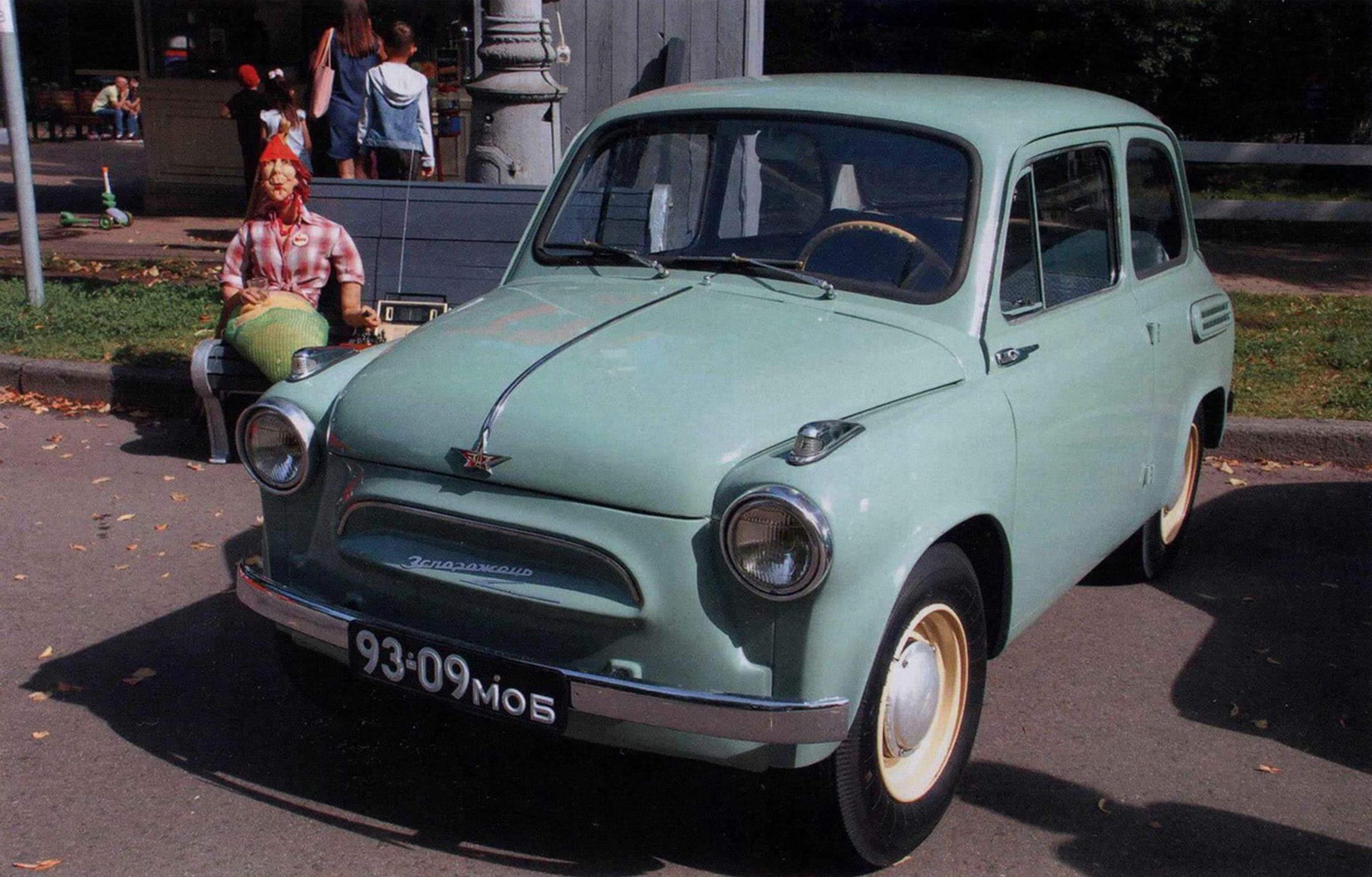У коллекционеров ретро-техники особенно ценятся ранние образцы ЗАЗ-965 с указателями поворотов в оригинальном корпусе и заводской эмблемой в форме звезды