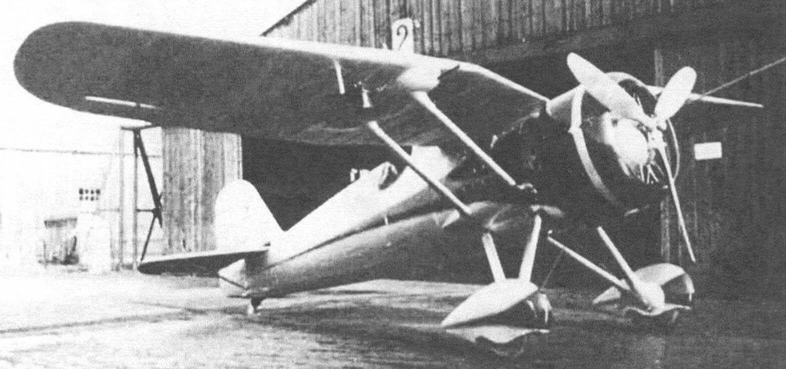 Второй опытный образец истребителя, Р-24/II, 1934 г.