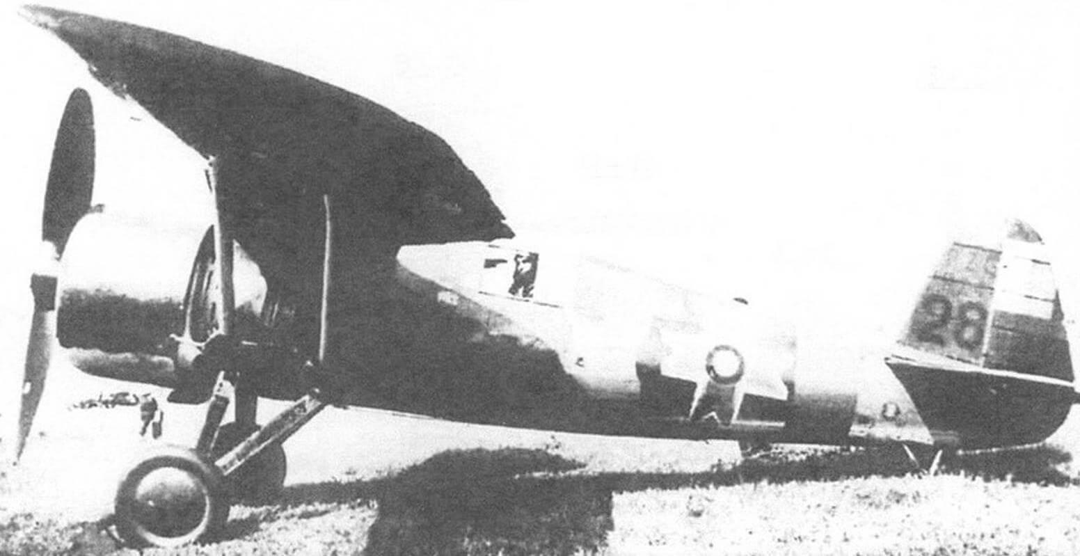 Истребитель Р-24Е румынского производства