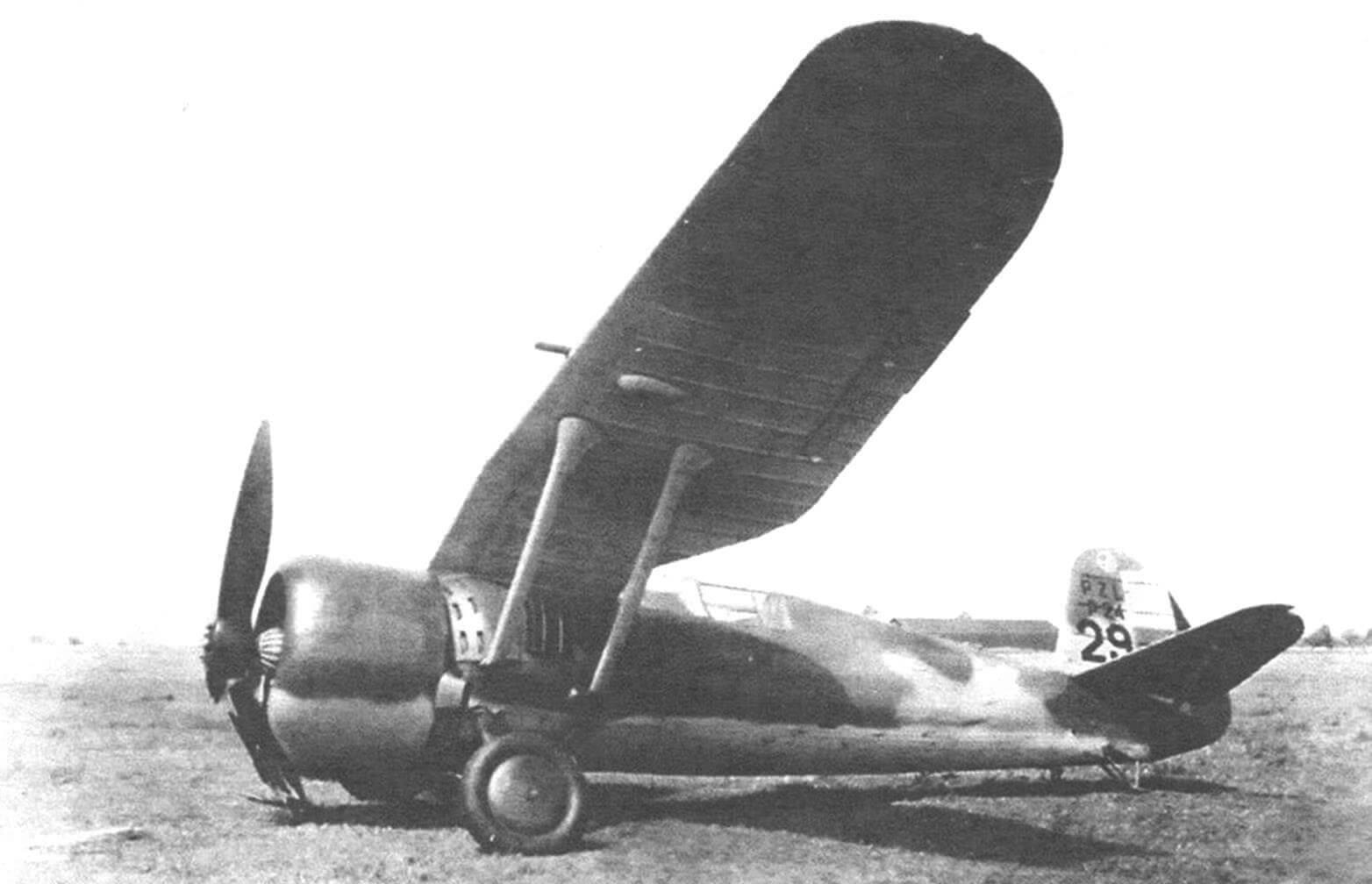 Авария Р-24Е румынских ВВС, август 1940 г.