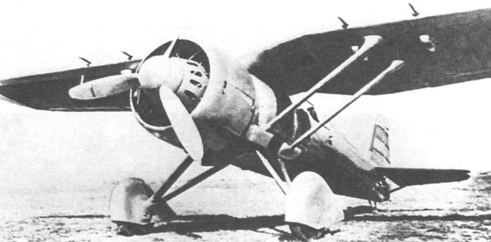 Р-24F во время заводских испытаний
