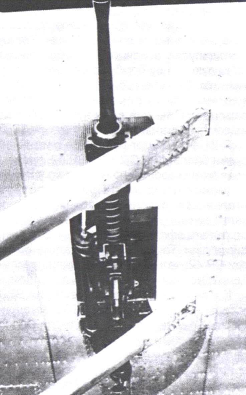 Пушка «Эрликон» FF,смонтированная под крылом, обтекатель снят