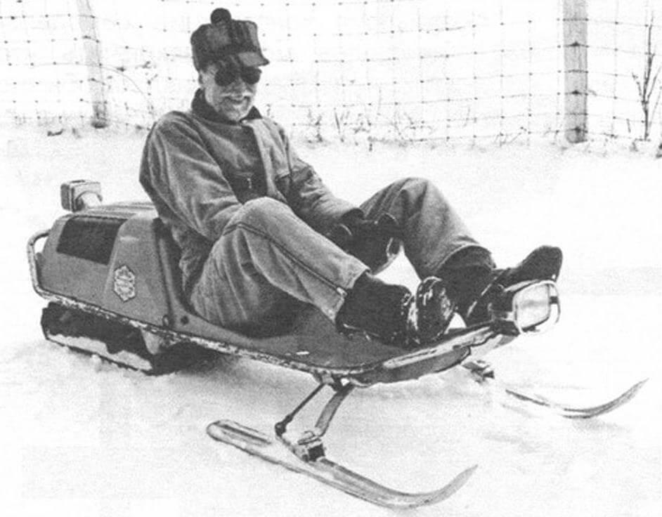 Наш первый самодельный снегоход был сделан еще в 2014 году, и прототипом послужили снегоходы Honda