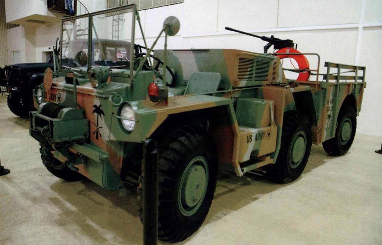Серийный автомобиль М561 производства компании Consolidated Diesel Electric, выпущенный в 1972 году