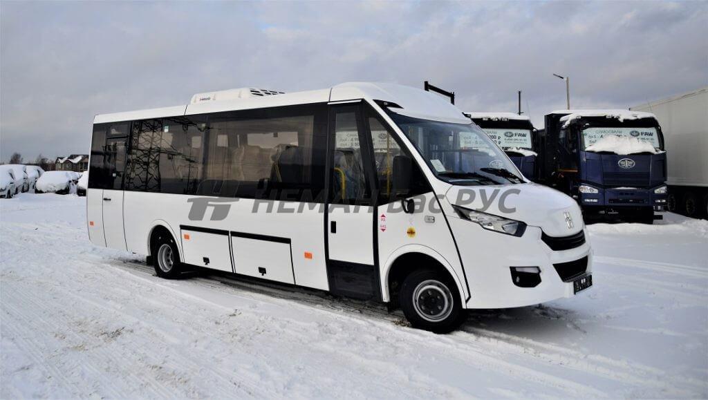 "Преимущество туристических автобусов ""Ивеко Дейли"""