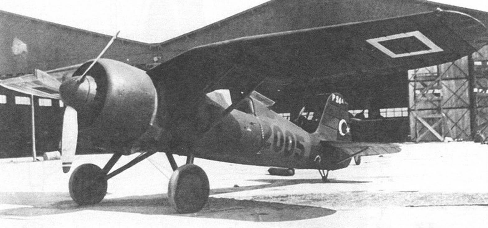 Р-24А, изготовленный для Турции на заводе PZL
