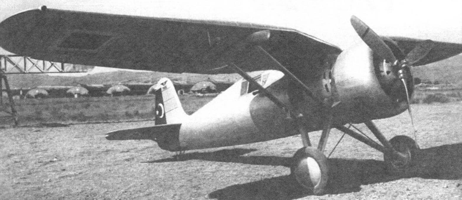 Р-24А турецкой сборки, вооружение еще не установлено, 1937 г.