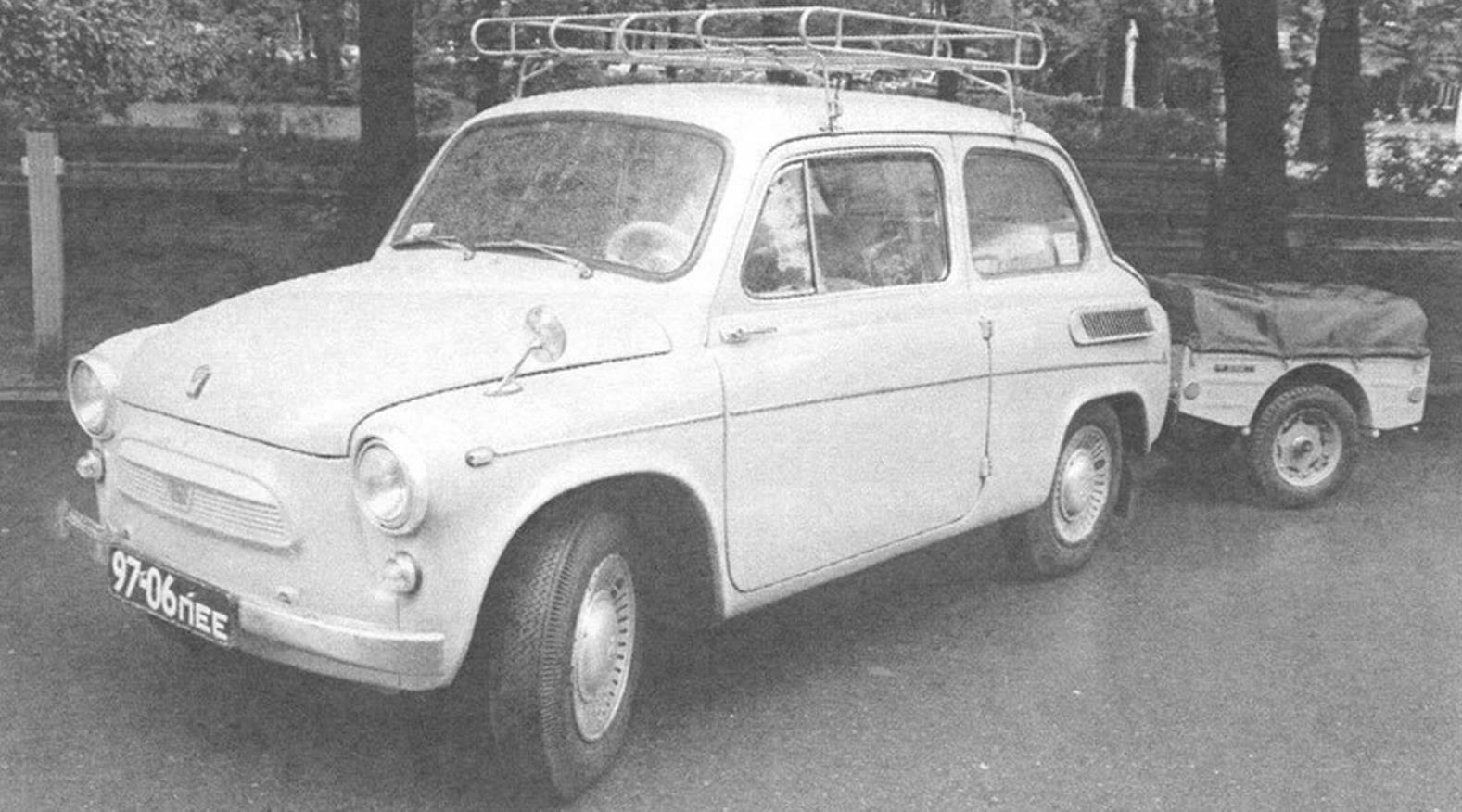 Тот самый ЗАЗ-965АЭ - «автомобиль экспортного исполнения для внутреннего рынка»