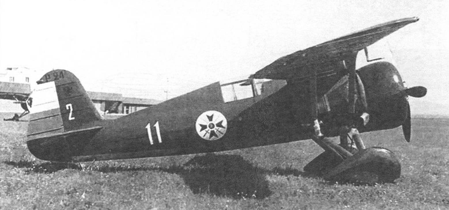 Болгарский Р-24В на аэродроме