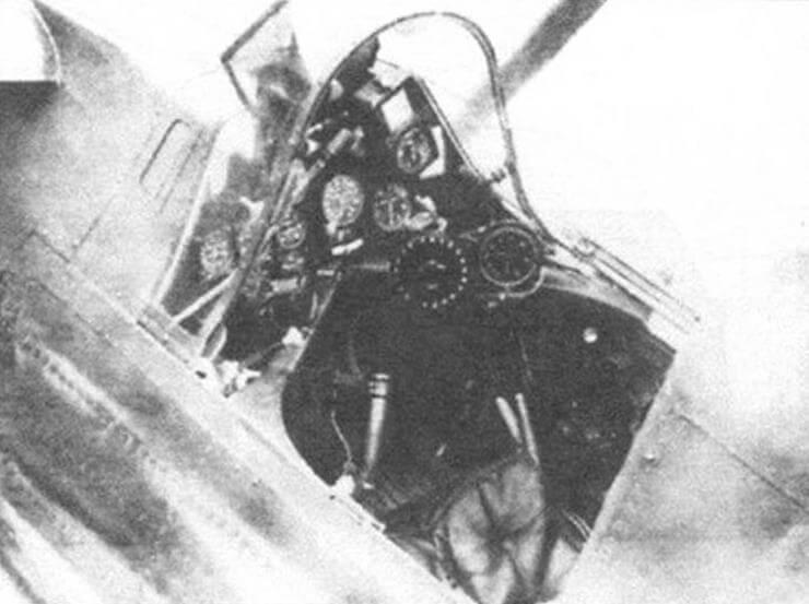 Пилотская кабина Р-24В