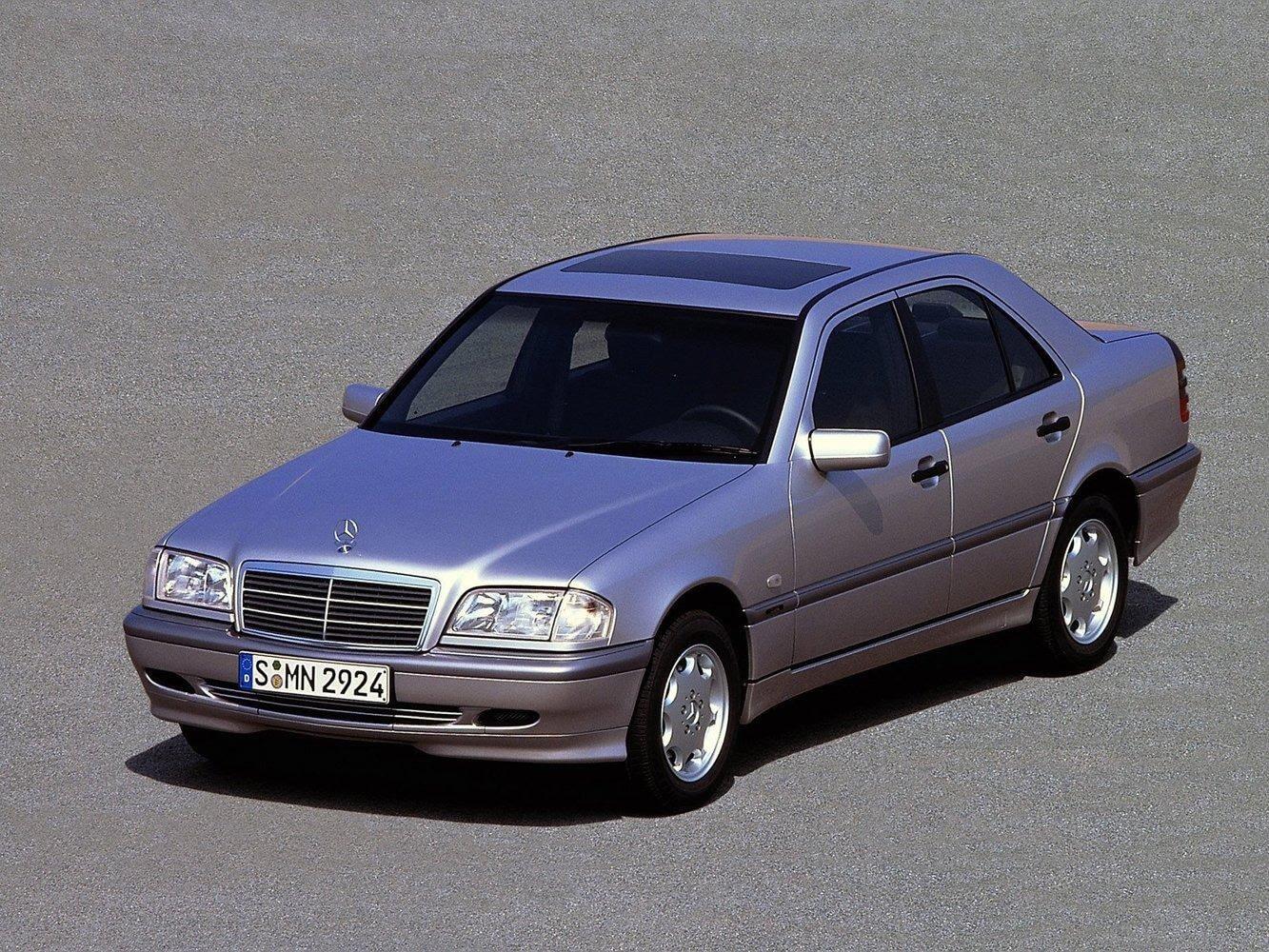 Mercedes C180 вчера и сегодня