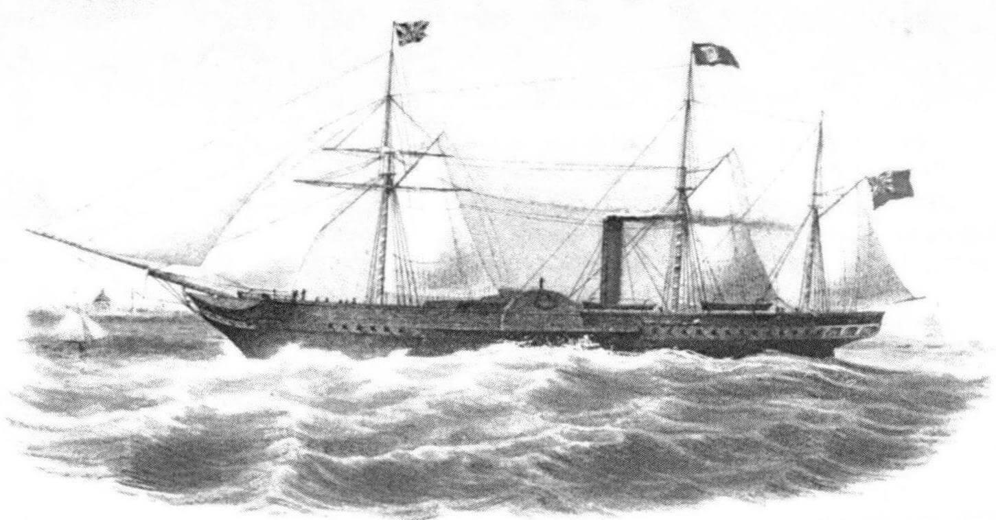 Лайнер «Хиберния» (RMS «Hibernia») - представитель второй серии трансатлантиков, построенных шотландскими корабелами для «Бритиш энд Норт Америкэн Ройял Мейл Стим Пакет Компании»