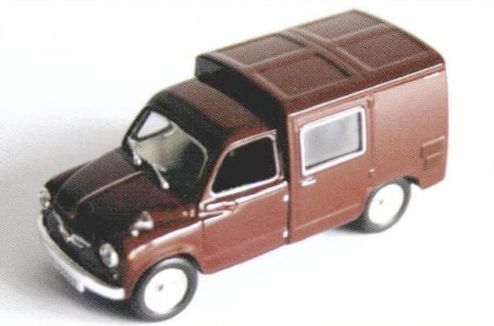 Красивая и редкая модель Seat 600 Siata Formicheta в грузопассажирском варианте, выпущенная в испанской серии Altaya