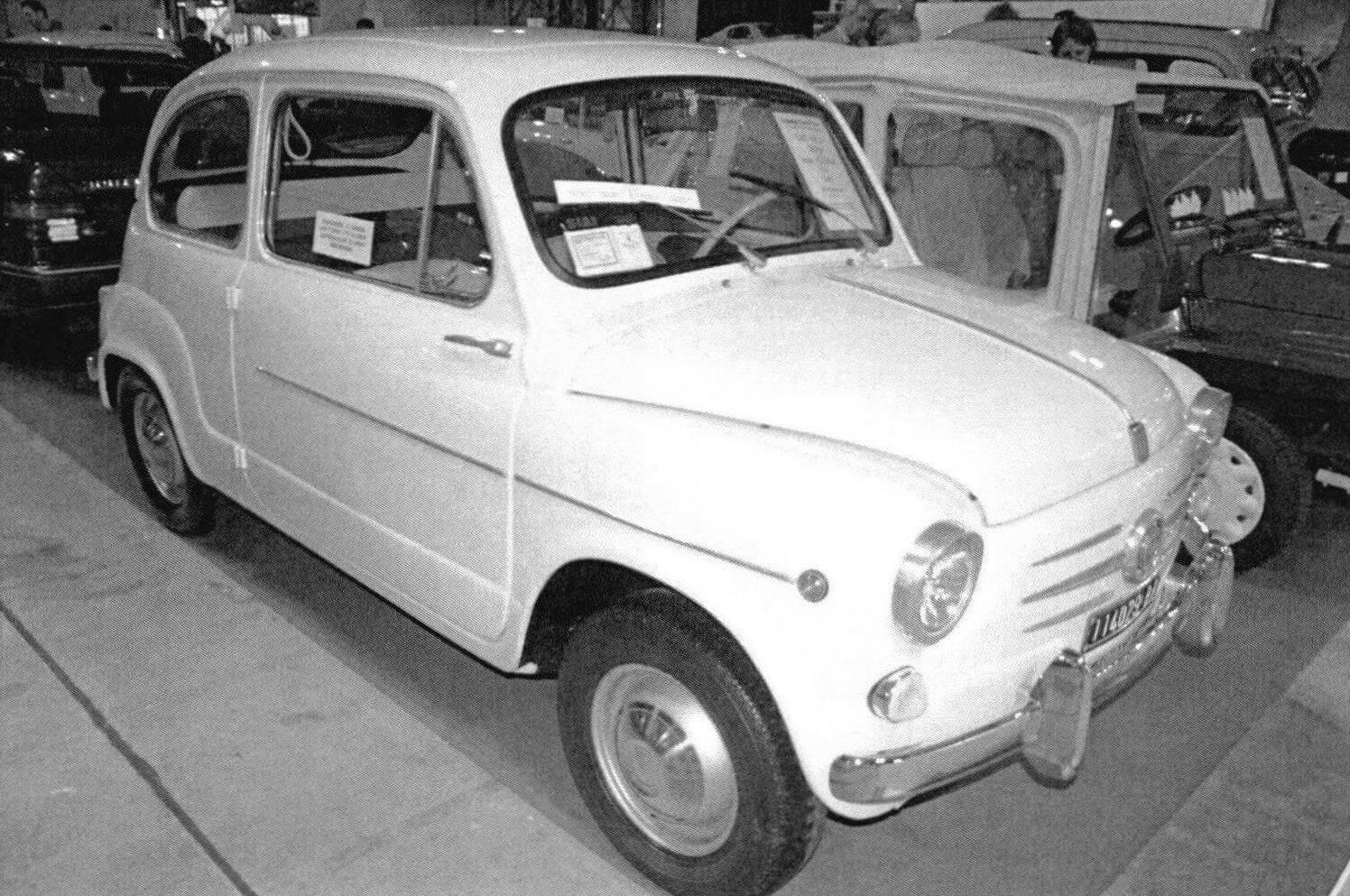 Fiat 600 D выпуска начала 1960-х годов