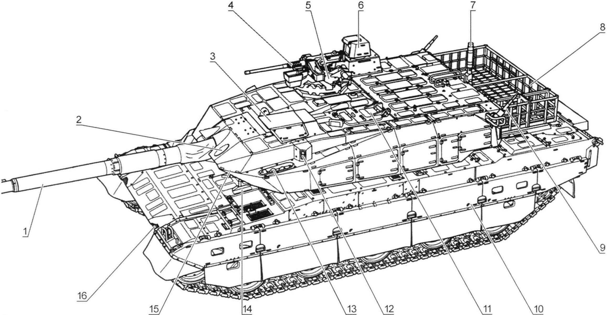 Основной боевой танк «10»
