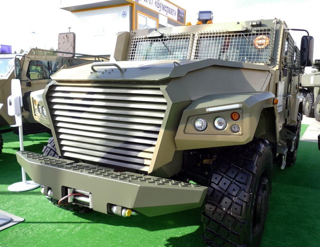 Экспортная версия бронеавтомобиля СБМ ВПК-233136