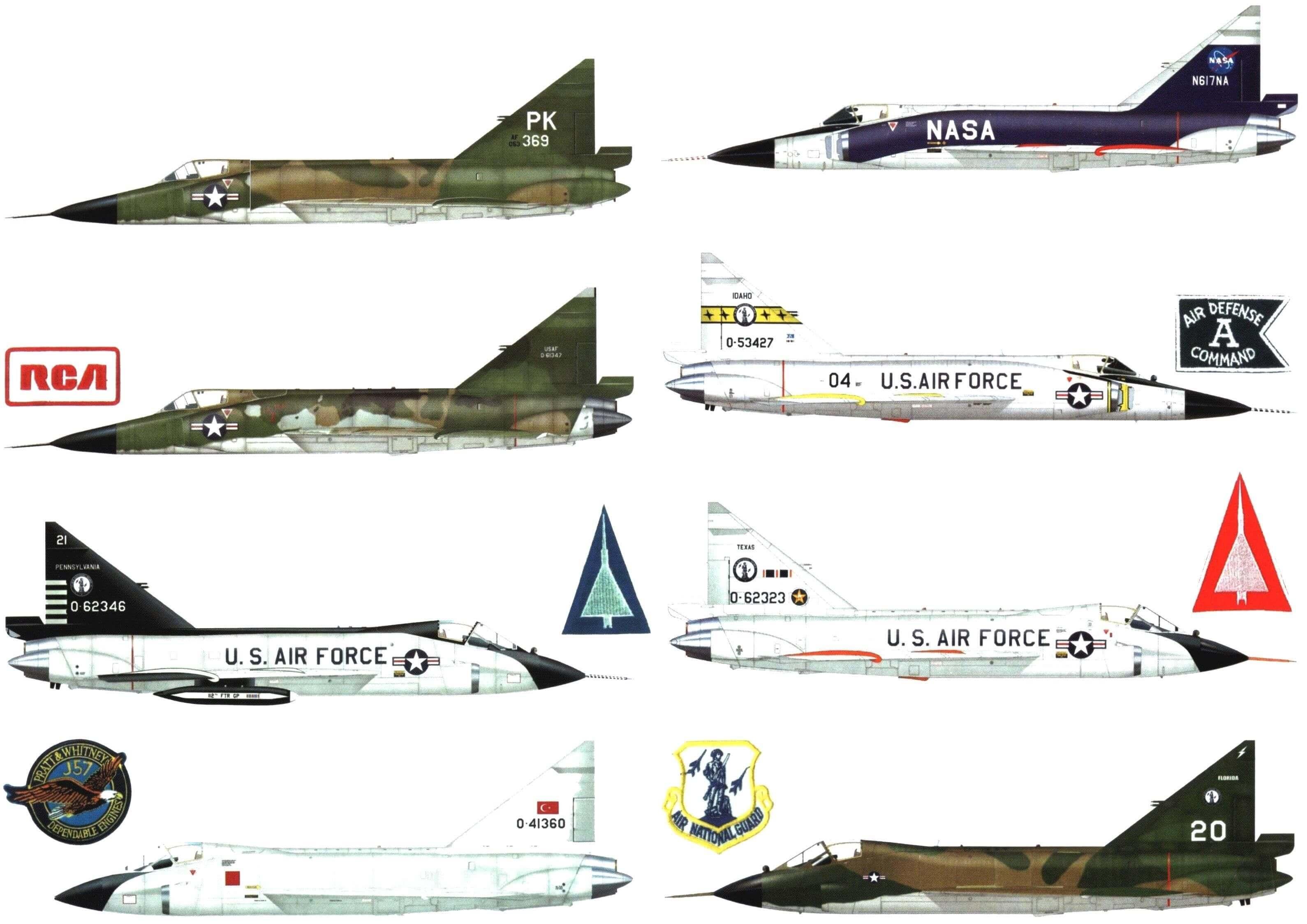 Сверхзвуковой перехватчик Convair F-102А